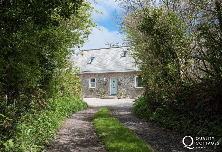 Pentraeth holiday cottage - ext
