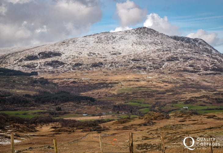 Mountain View in Anglesey