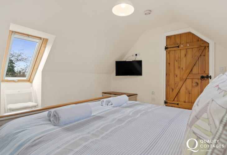 Double Bedroom with Velux window on first floor