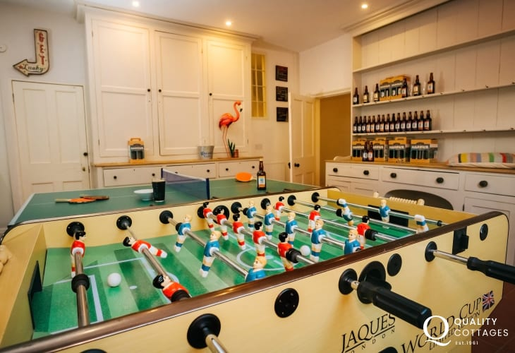 Tenby holiday house - games room