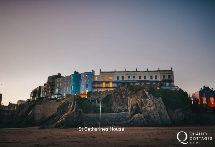 St Catherines House Castle Beach