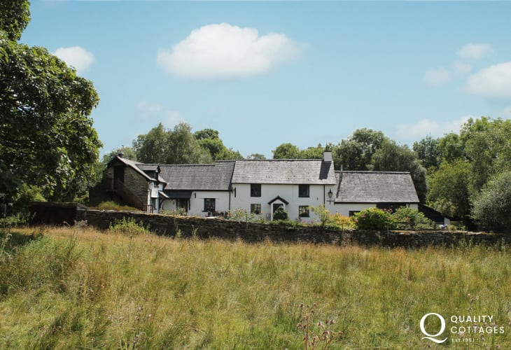 Coolest cottage, Henfaes Isaf is a traditional farmhouse in tranquil countryside