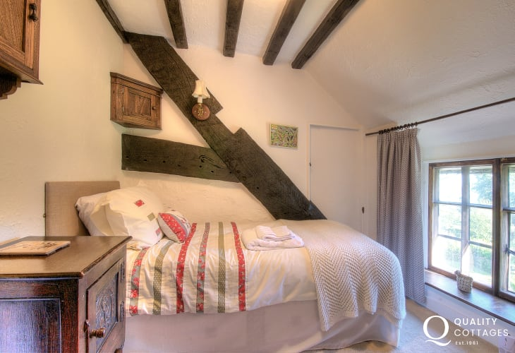 Pet friendly north Wales cottage - bedroom