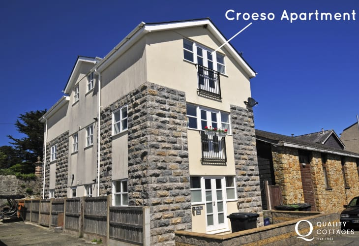 Beaumaris holiday cottage - ext