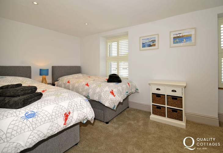 Morfa Nefyn luxury holiday cottage - bedroom