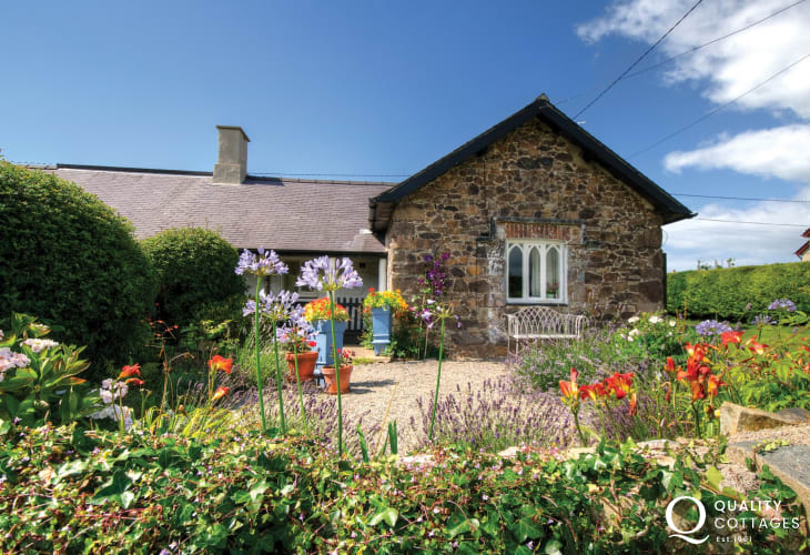 North Wales holiday cottage for 2 - exterior