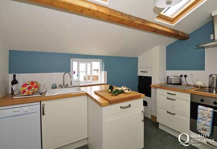 Romantic cottage north Wales - kitchen