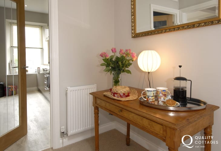 Luxury holiday flat in St. Davids city centre