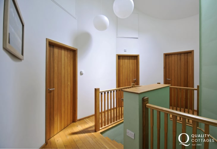 Luxury holiday house south Wales - hall