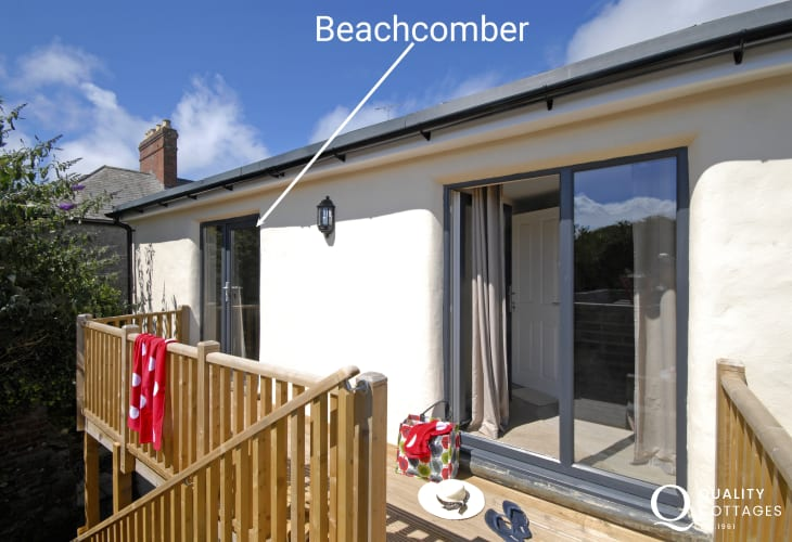 Pet friendly St Davids holiday apartment - sorry no garden