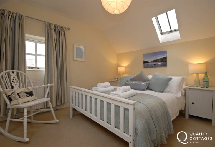 St Davids family holiday cottage sleeping 6 - double