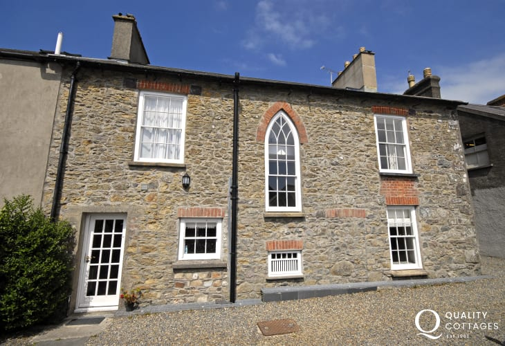 Grade II listed Victorian house, St Davids