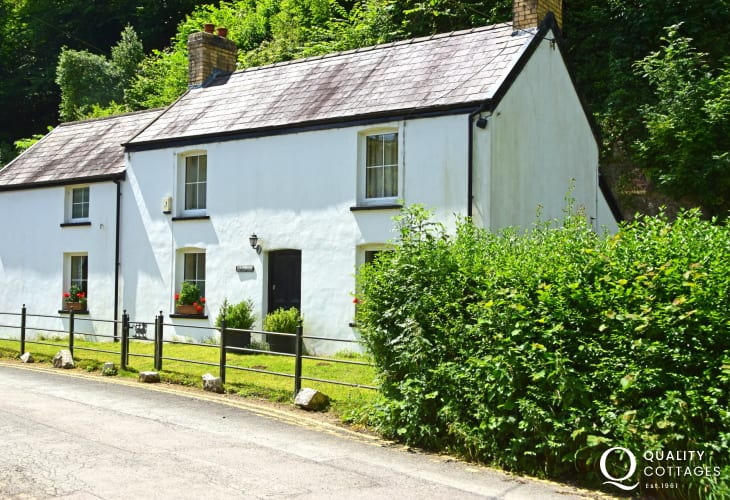 The Gower Forge once a working smithy now a holiday cottage