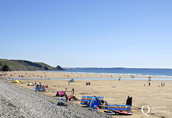 Newgale Sands, Pembrokeshire's premier surfing beach