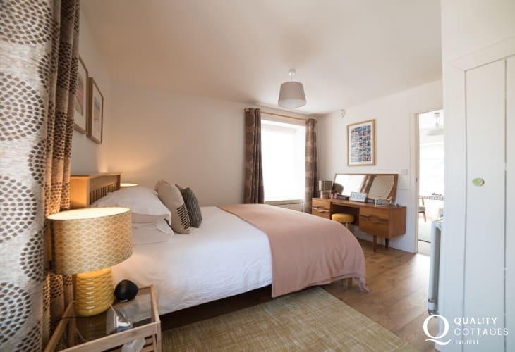Coastal Cottage wales double bedroom