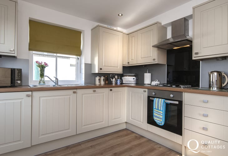 Self catering St Davids -luxury fully equipped kitchen/diner