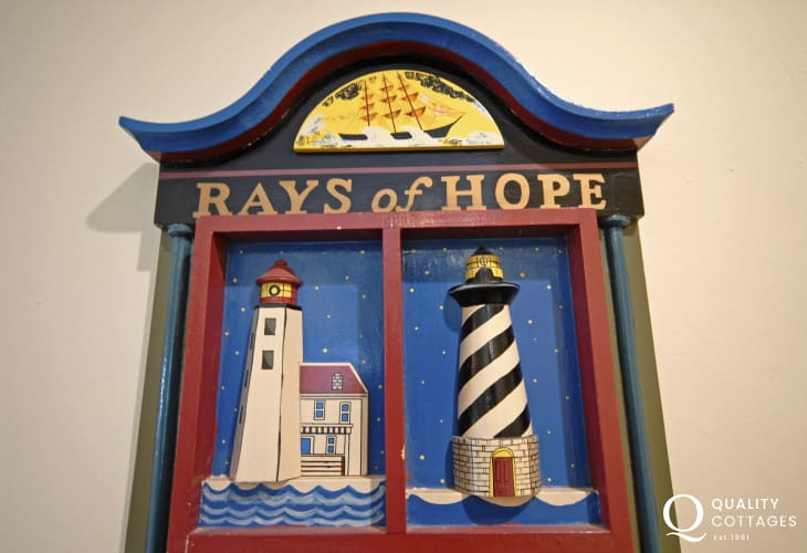 'Rays of Hope' at Lighthouse Cottage