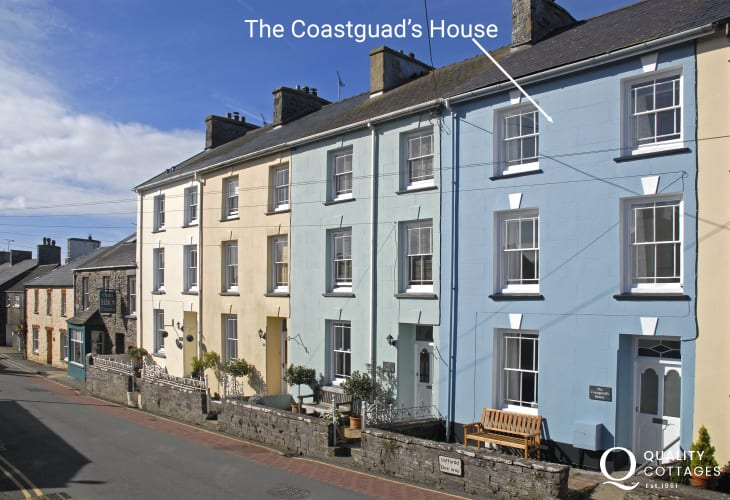 St Davids holiday cottage Pembrokeshire - ext