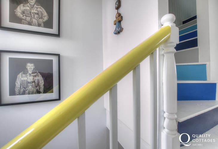 Large holiday cottage St Davids - stairs