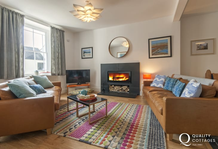 Luxury holiday cottage Pembrokeshire - lounge