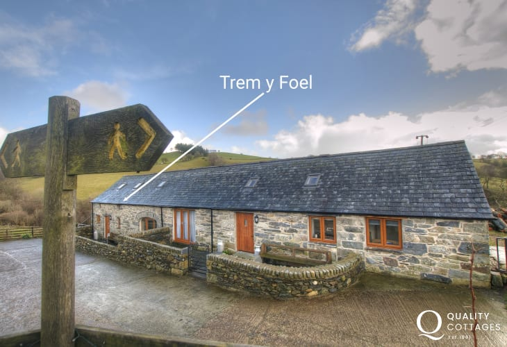 Luxury holiday cottage Snowdonia - ext