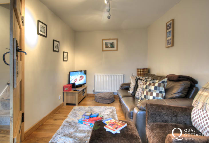 Holiday cottage St Davids town centre - sitting room