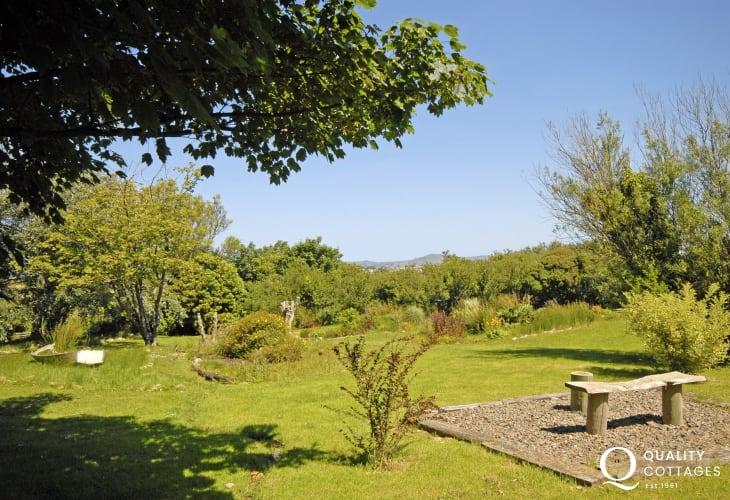 Queit spot to relax at Aberfelin