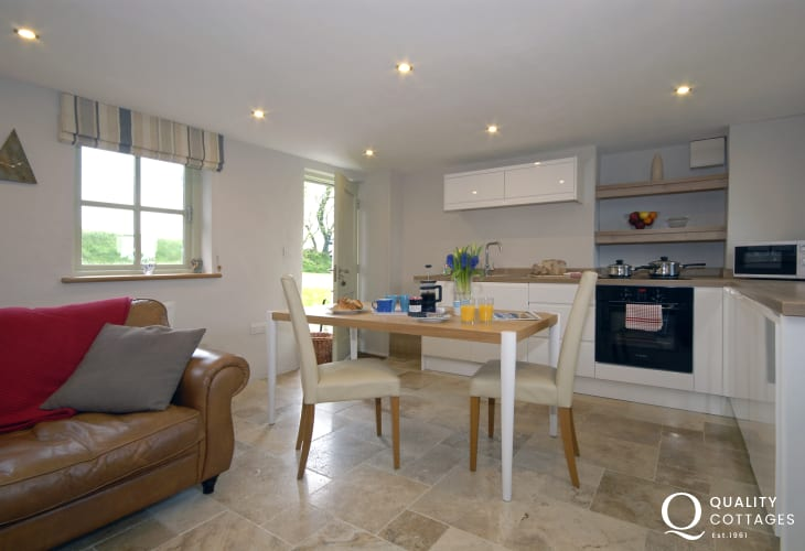 Open plan kitchen/sitting room