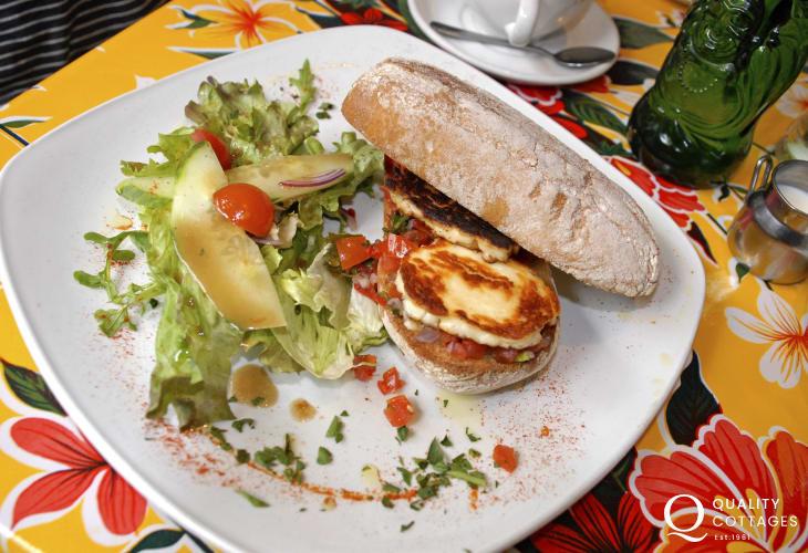 Conti's Cafe at Llanerchaeron