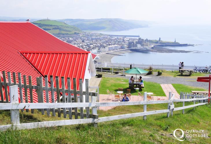 Constitution Hill in Aberystwyth