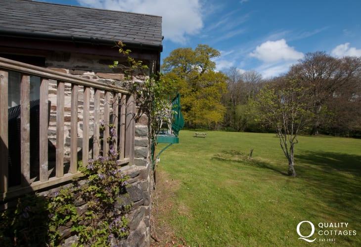 Aberaeron holiday cottage - exterior