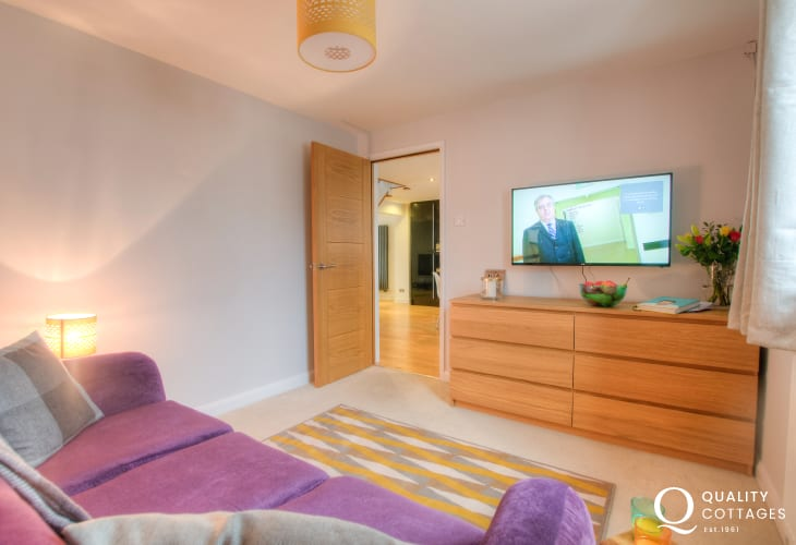 Solva North Pembrokeshire - sitting room