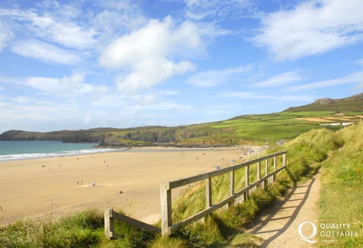 The Award-winning beach Whitesands 3 miles from St Davids
