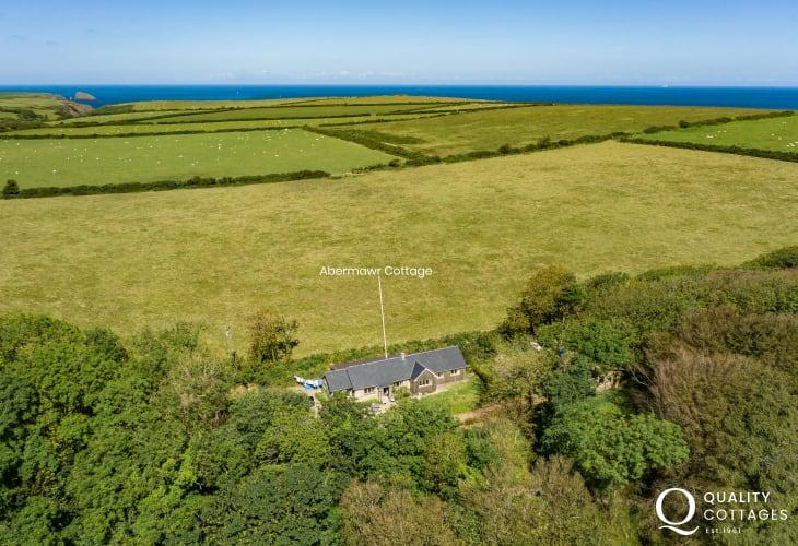 Welsh cottage holiday location Abermawr