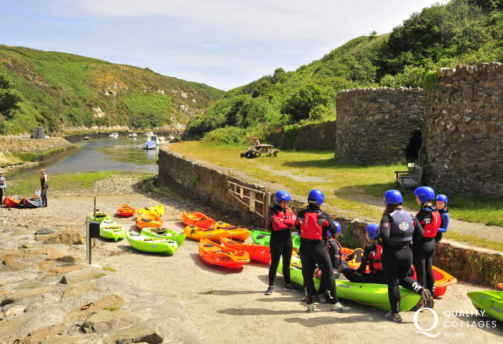 TYF Adventure, St Davids offer a wide range of activities - bike hire, coasteering, sailing, and kayaking