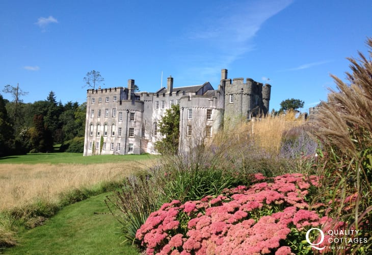 Picton Castle - stunning gardens, birds of prey displays, woodland walks and a range of activities all year round