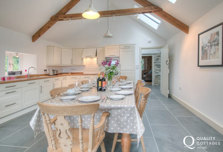 Pembrokeshire luxury holiday cottage  - kitchen