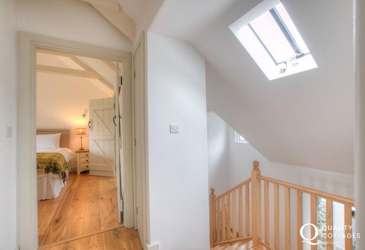 Pembrokeshire luxury holiday cottage  - landing