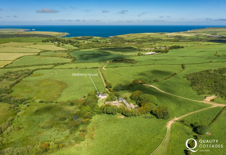 Pembrokeshire cottage holiday location