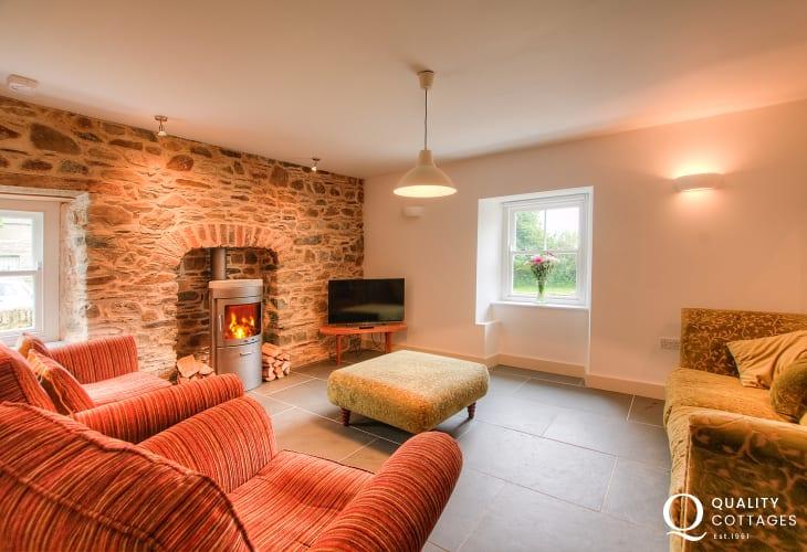 Pembrokeshire luxury holiday cottage  - snug