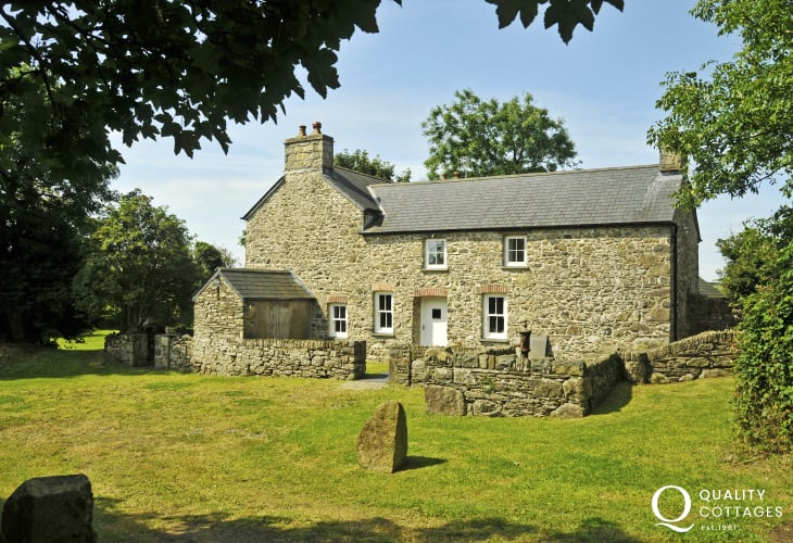 Cottage holiday Pembrokeshire - exterior