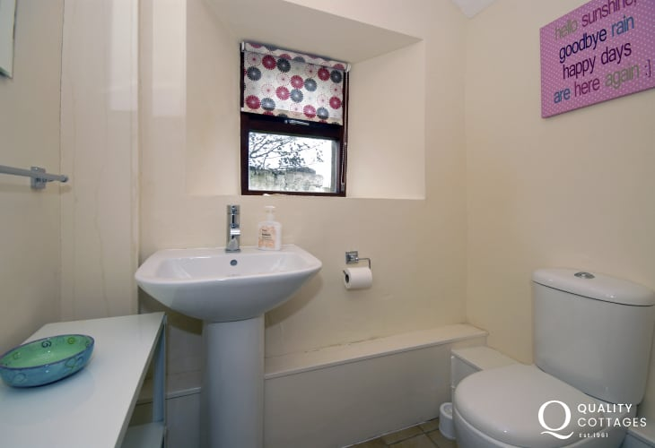 Utility with separate cloakroom