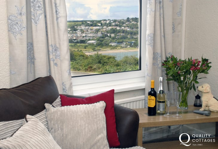 Holiday home overlooking Goodwick Sands