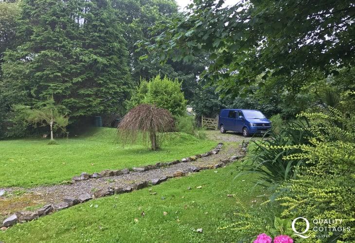 Holiday cottage Barafundle - garden