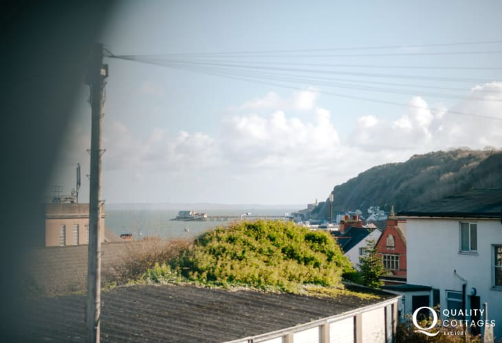 Mumbles nearby cottage holiday - sea views