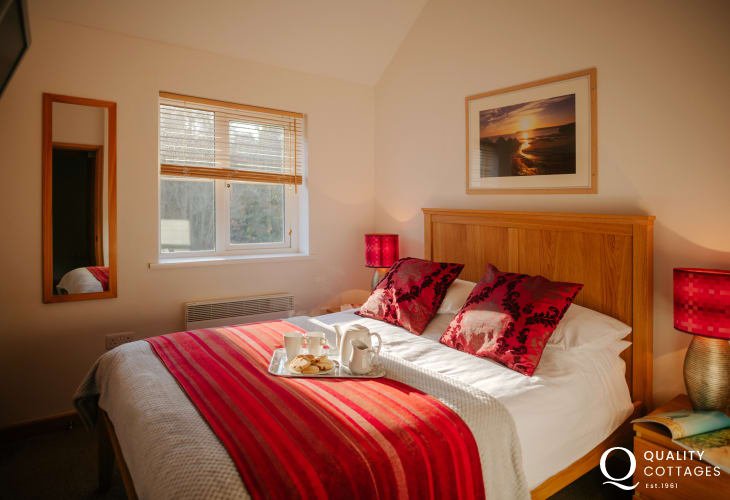 Cottage holiday Three Cliffs Bay-double room