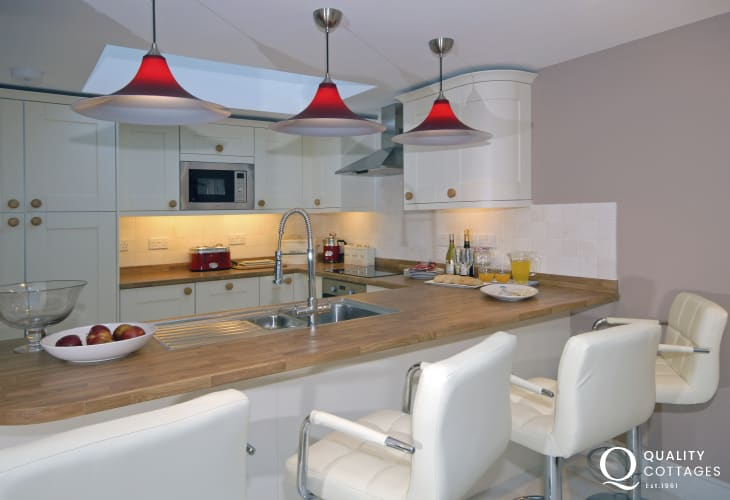 North Pembrokeshire holiday cottage - kitchen