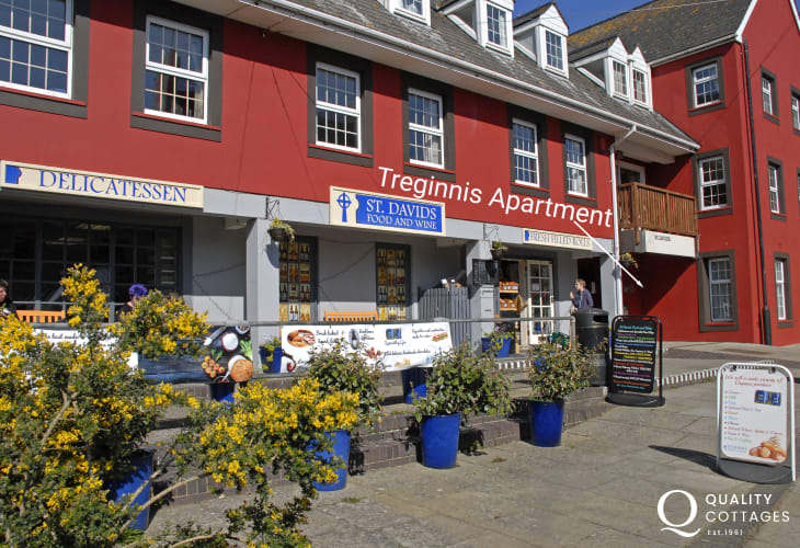 St Davids self catering apartment
