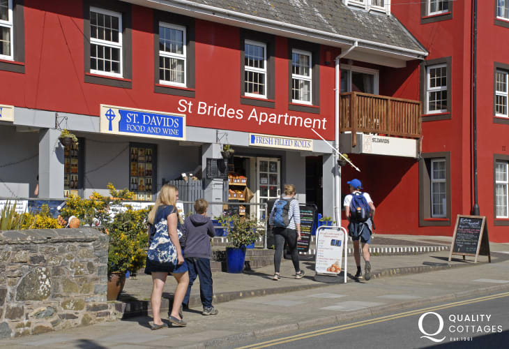 Holiday apartment St Davids sleeps 4