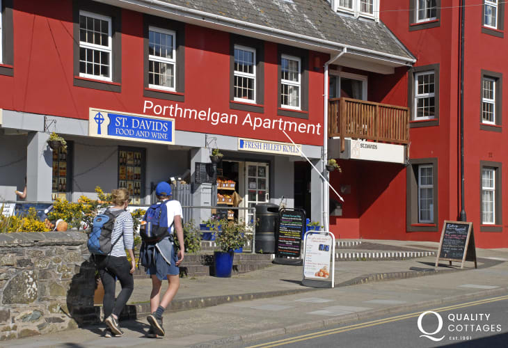 St Davids self catering apartment sleeps 2